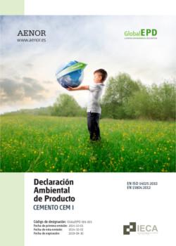 Declaración Ambiental de Producto - DAP CEM I