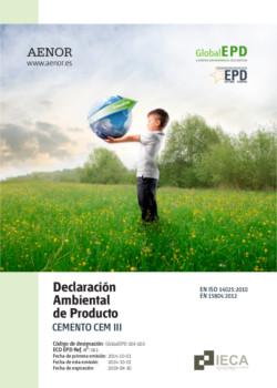 Declaración Ambiental de Producto - DAP CEM III