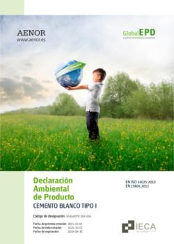 Declaración Ambiental de Producto - DAP Blanco Tipo I