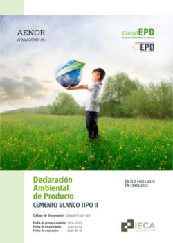 Declaración Ambiental de Producto - DAP Blanco Tipo II