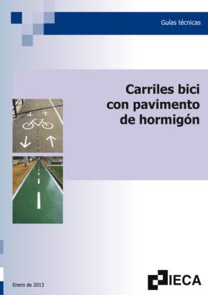 Carriles bici con pavimentos de hormigón