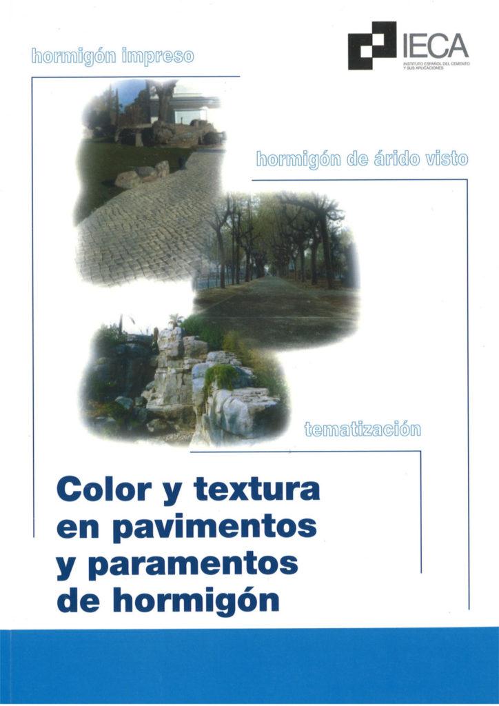 Color y textura en pavimentos y paramentos de hormigón
