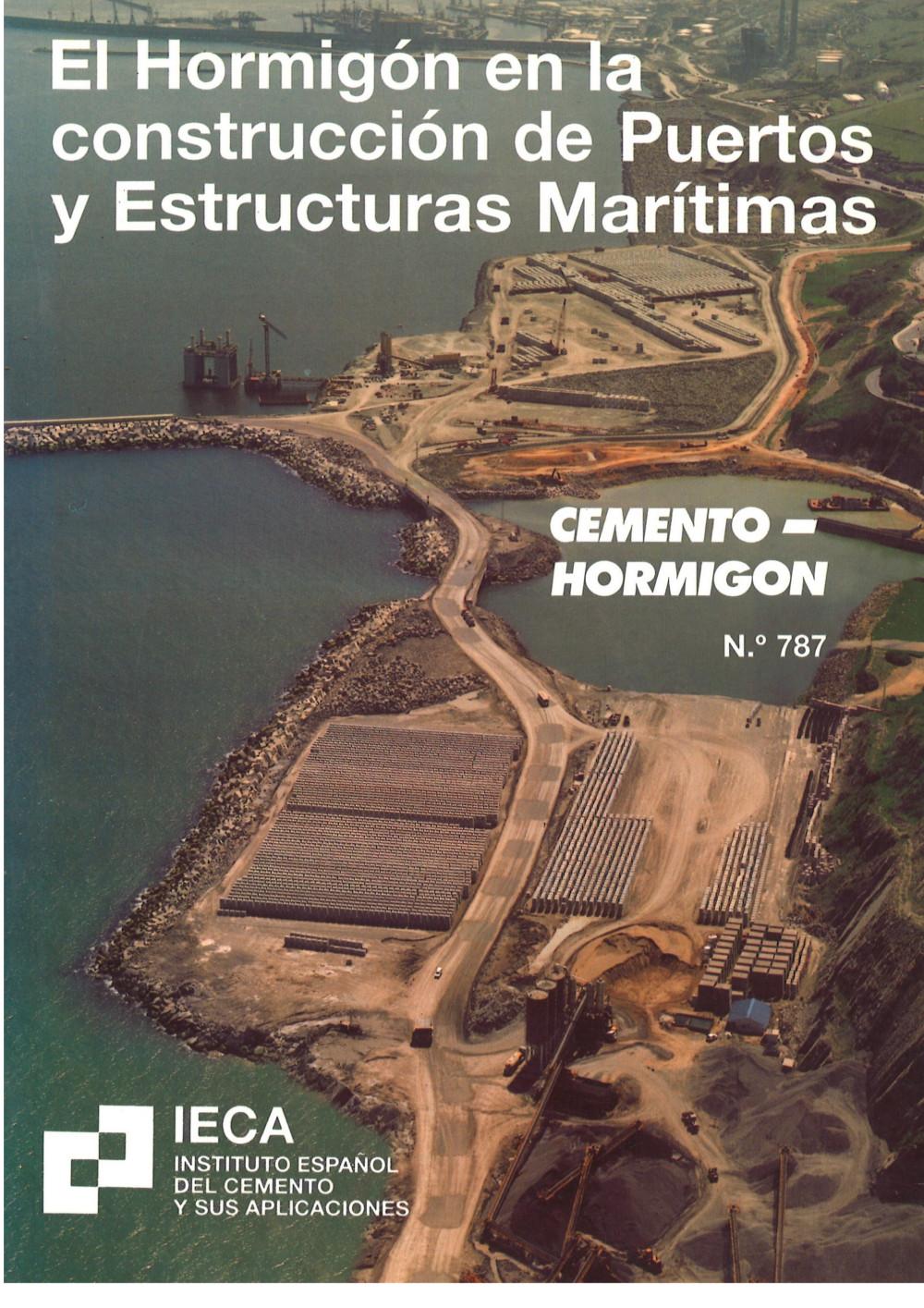 El hormigón en la construcción de puertos y estructuras marítimas
