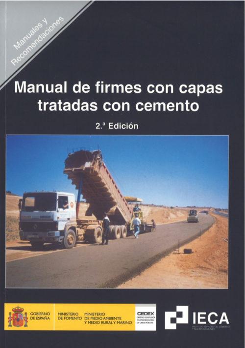 Manual de firmes con capas tratadas con cemento