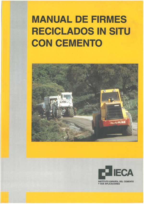 Manual de firmes reciclados in situ con cemento