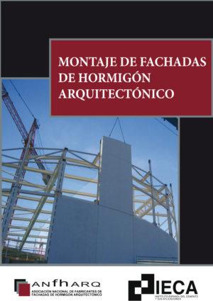 Montaje de fachadas de hormigón arquitectónico