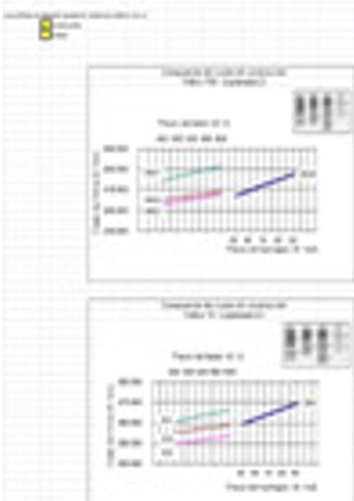 Estudio económico de las secciones de firme