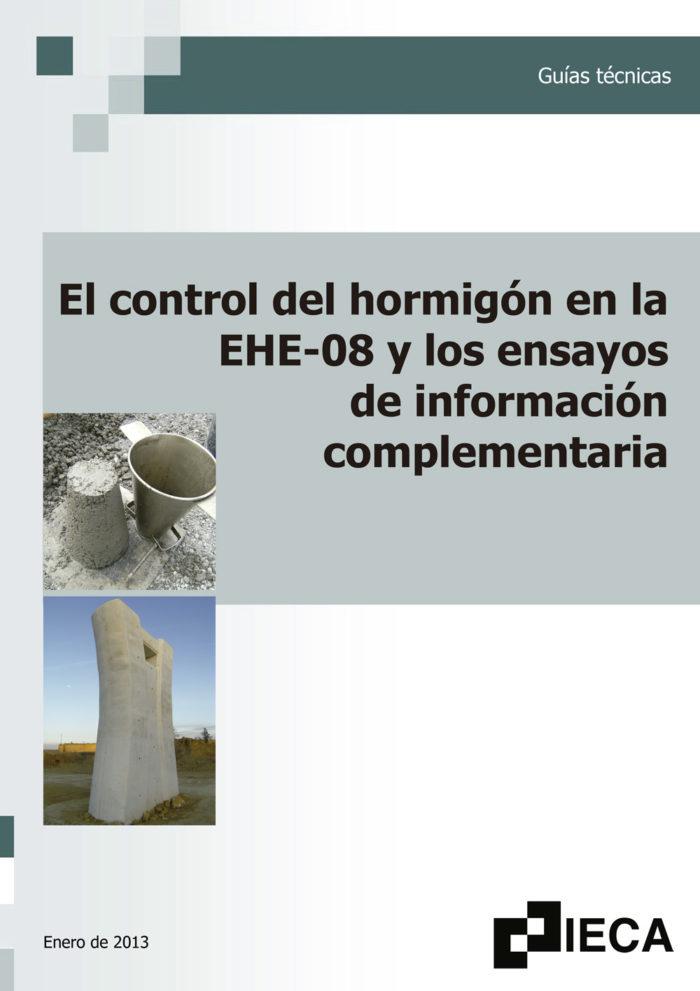 El control del hormigón en la EHE-08