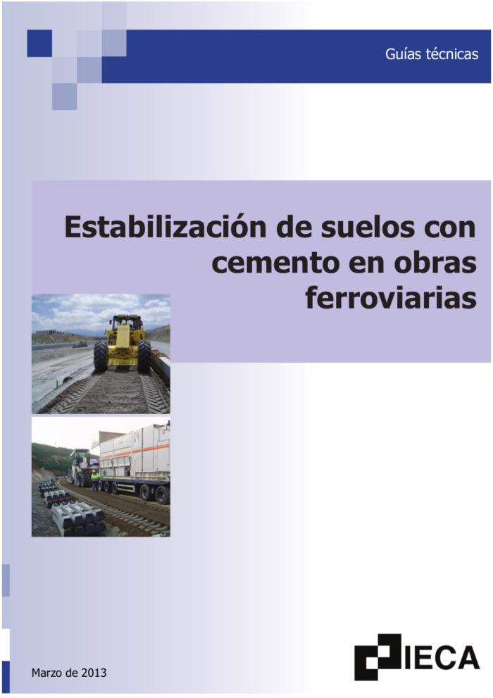 Aplicación del cemento en estructuras ferroviarias