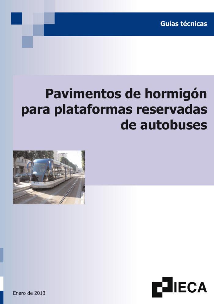 Plataformas reservadas para el transporte público